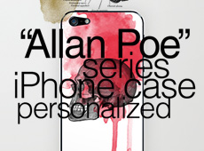 "iPhone Cases ""Allan Poe"""