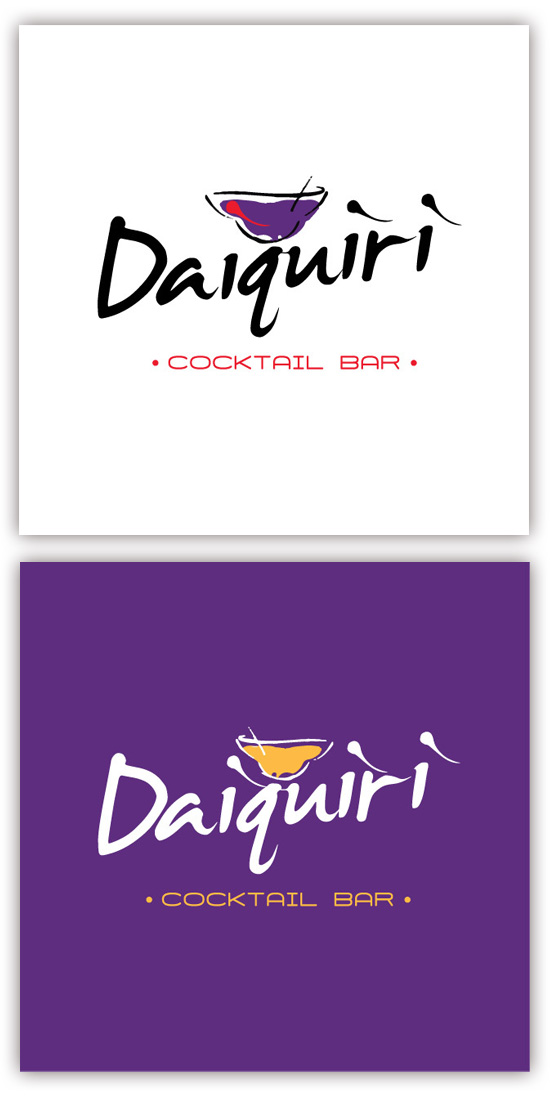 Logo Identity for Daiquiri – Italy