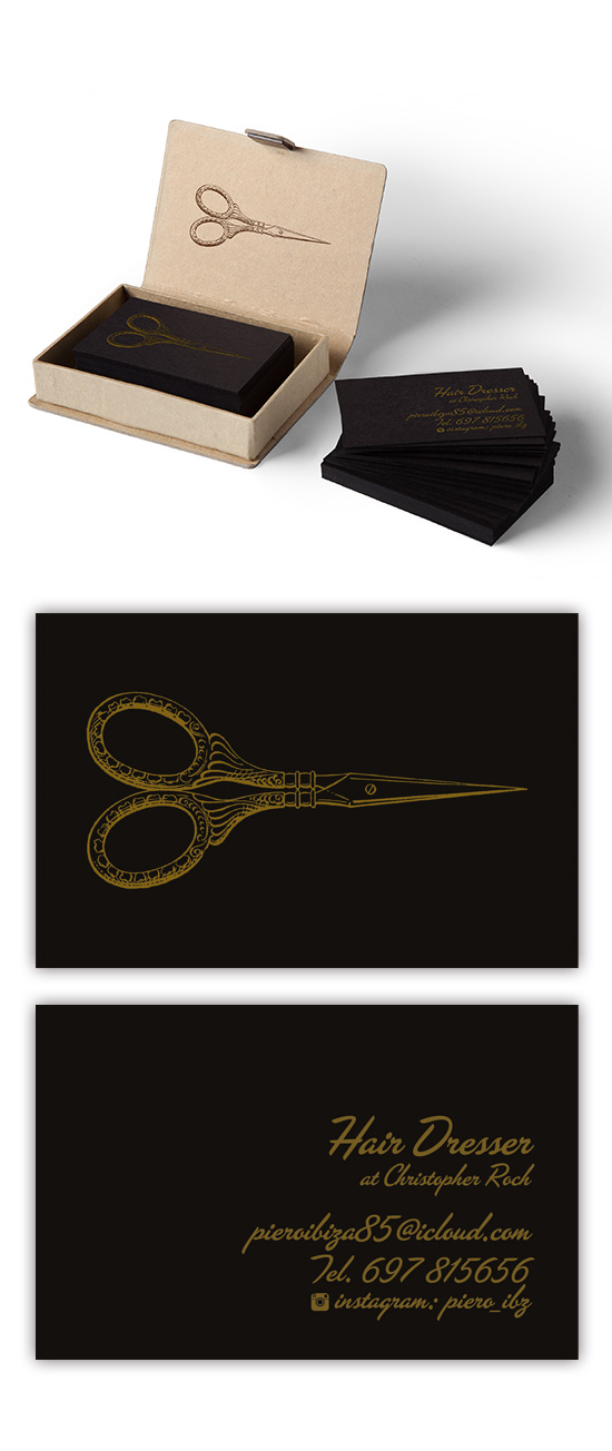 Logo Identity for Italian Barber